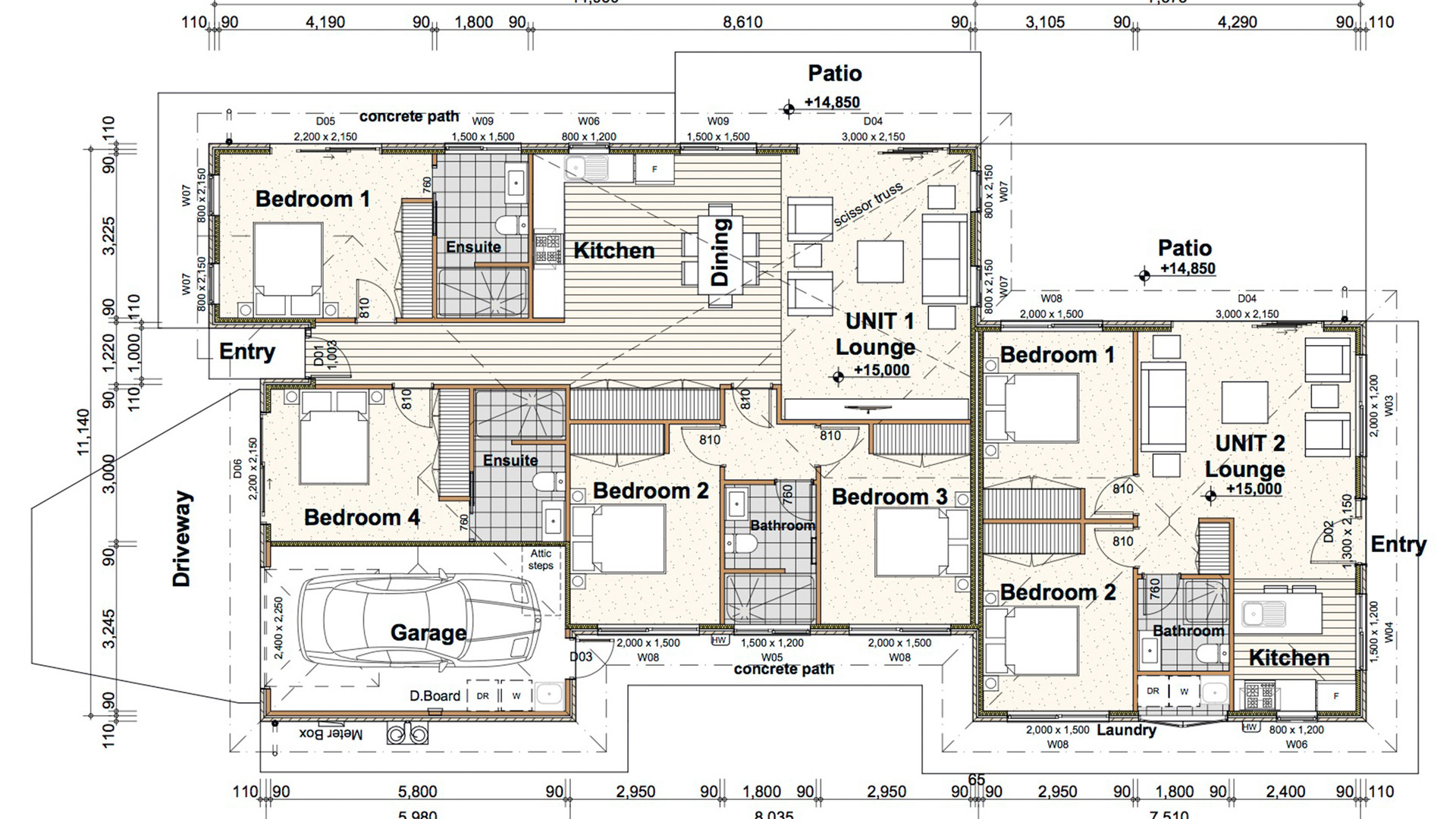 Queenstown floor plan