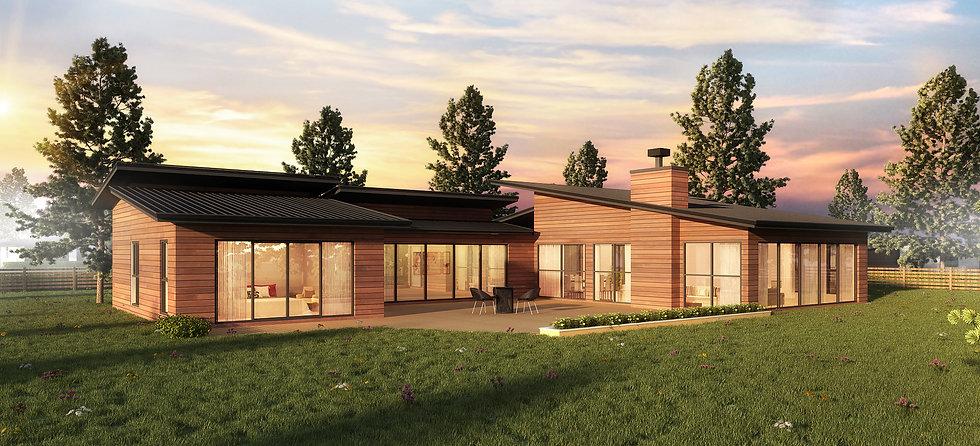 Lake House House Plan