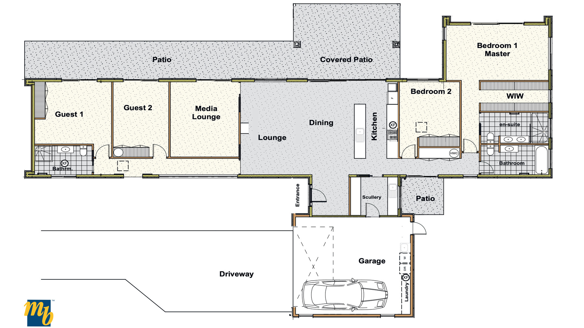 Fielding Floorplan
