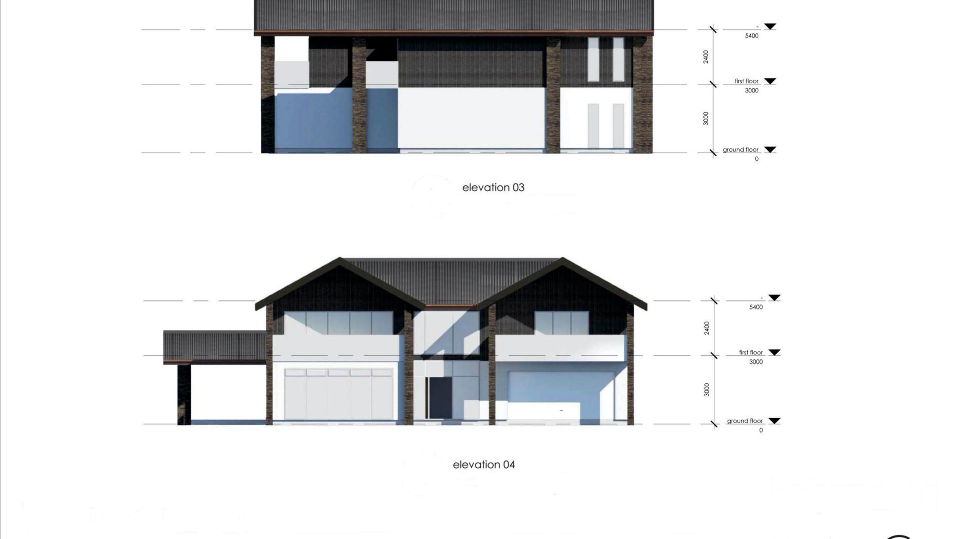 Rangitoto Floorplans & Elevations 2