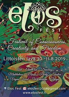 Elos Fest 2019 flyer