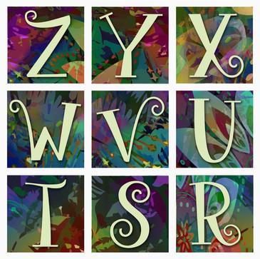 Instagram Alphabet