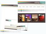 """Vima"" Corporate Identity, visual marketing association"