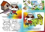 Viggo the Viking Activity book