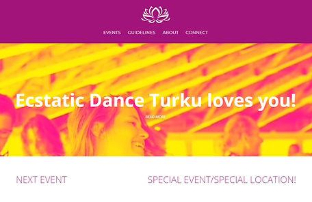 ecstatic dance website