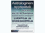 Turun Seudun Astrologinen Seura Syyspäivä