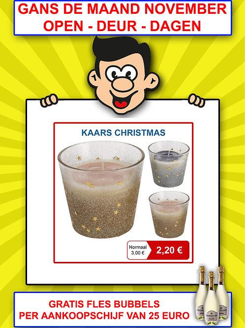 """Kaars """"christmas"""""""
