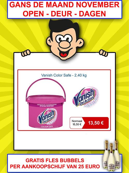 Vanish color safe - 2,40 kg