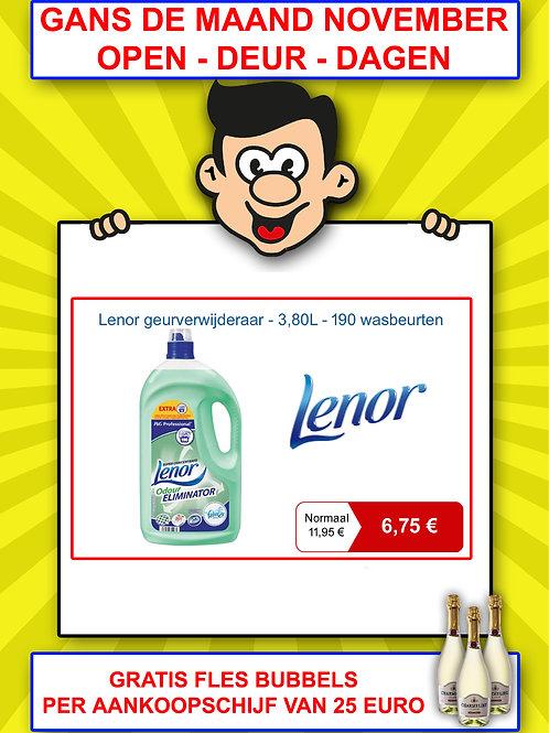 Lenor geurverwijderaar - 3,80 liter - 190 wasbeurten