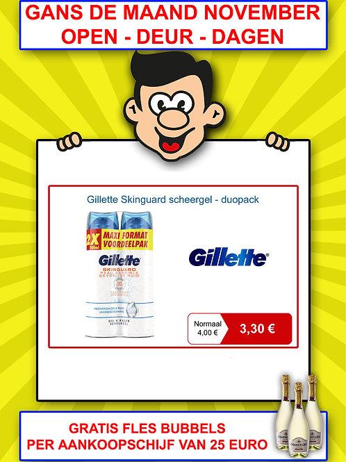 Gillette Skinguard scheergel - duopack