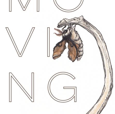 """Moving"" short story cover illustration"