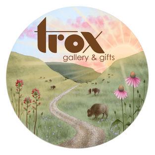 Trox Gallery sticker design