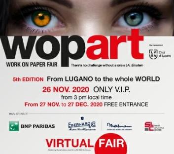 WOPART LUGANO - Work on Paper Fair