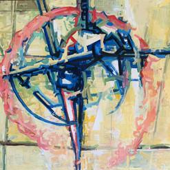 地里木拉提,阿不都卡德尔 Dilmurat·Abdukadir  Untitled  《无题》 Acrylic on canvas  布面丙烯 130x97cm 2020  Born in Yining, Xinjiang in 1968.   Graduated from Xinjiang Academy of Fine Arts in 1992. Advanced course of Fine Arts in Telemark University (2008-2009). He participates in numerous artistic events both in China and abroad and writes for several art magazines in China.    1968年出生于中国新疆伊宁市,1992年毕业于新疆艺术学院美术系,2008年9月—2009年9月在挪威 Telemark 大学美术系学习。   地里木拉提在国内多次参加各种画展,在国内外多次举办个人画展,在各种杂志多次发表论文和作品。