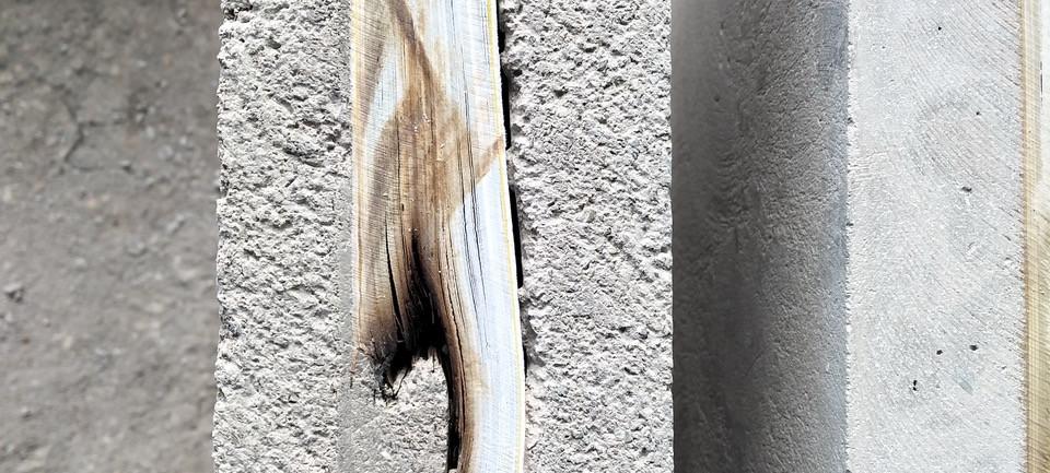 The Wall (particolare, mattonella)