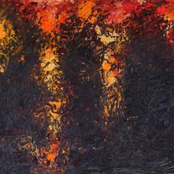 杜军  Jun Du  The life  《生命》 Acrylic on canvas  布面丙烯 40x50cm 2020  Lives in Jiamusi, Heilongjiang, Manchuria, China.  He is self-taught. He depicts the landscape of the prairie where he lives, and makes it into abstract painting following its own language.    黑龙江省佳木斯市建三江农垦人。他从没有进过艺术院校学习,更没有让人骄傲的称呼。他是一名草根艺术家,草根平凡且具有顽强的生命力和独立性;草根的精神是生生不息,顽强向上。  草根就是杜军,杜军就是草根。