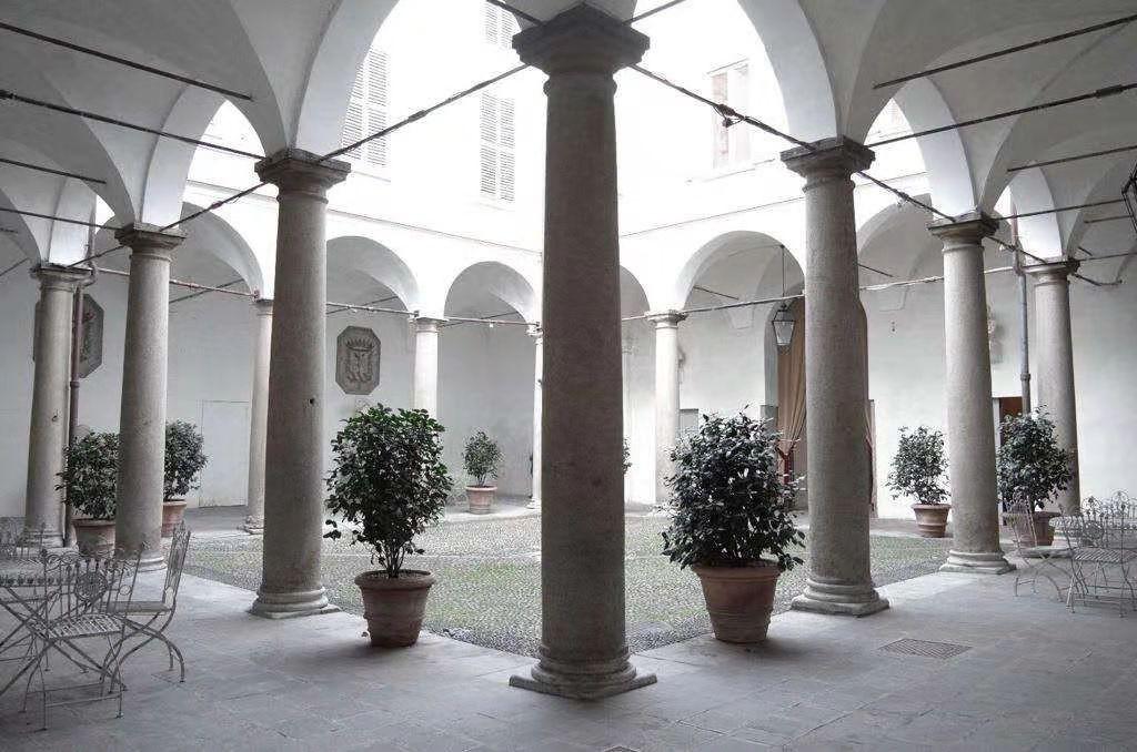 Il Cortile di Palazzo Durini