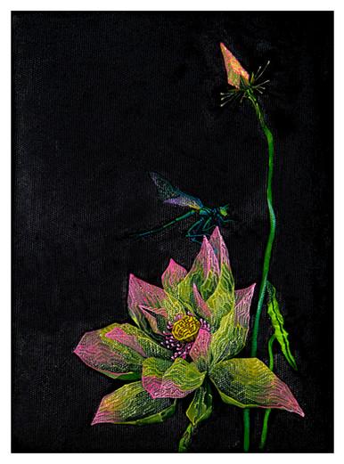 《美人妆》 Beautiful 布面油画 Oil on canvas 16x22cm 2020