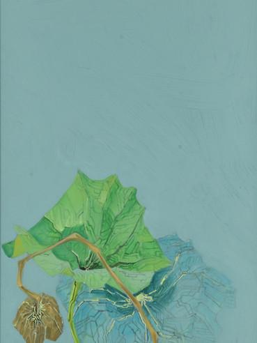 文儒雅思系列  Kind thinking in Literature Series 《迷之恋》Obsessed 布面油画 Oil on canvas 40x106cm 2021