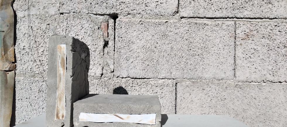 The Wall (particolare, mattonelle)