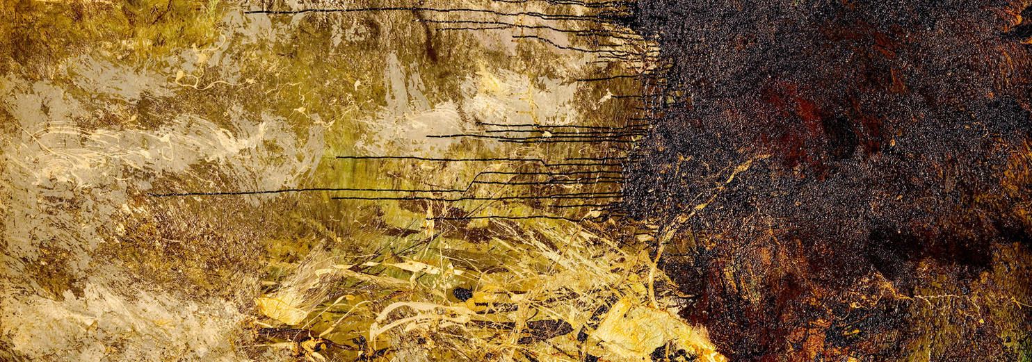Landa desolata B047 《卷转荒流 B047》 Olio su tela 布面油画 260x180cm 2013