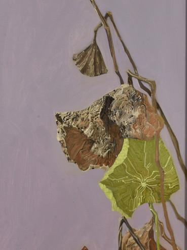 文儒雅思系列  Kind thinking in Literature Series 《涅槃》 Nirvana 布面油画 Oil on canvas 40x106cm 2021
