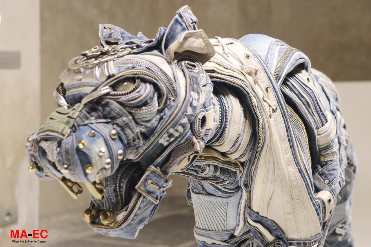 Blue Panther (detail)