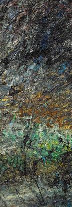 Buco nero profondo Polittico 3 《黑洞深场 八联组 3》 260x120cm Olio su tela 布面油画 2002-2015