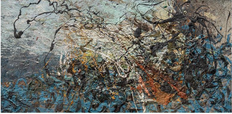 Fiabe antiche B251 《远古童话 B251 》 Olio su tela  布面油画 180x128cm 2012