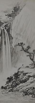 Hua Zhining's early artwork 华之宁早期作品 Watercolor  水彩 30x57cm