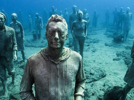 Avrupa'nın İlk Su Altı Müzesi: Museo Atlántico