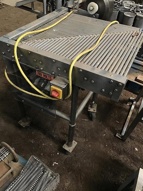 90 Degree Shuttle Conveyor - Stainless Steel