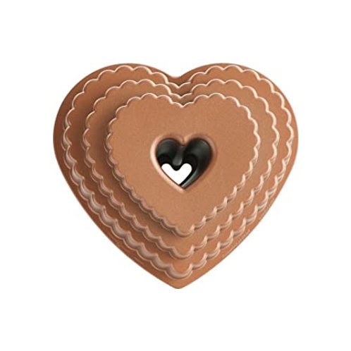 Nordic ware - Tiered heart