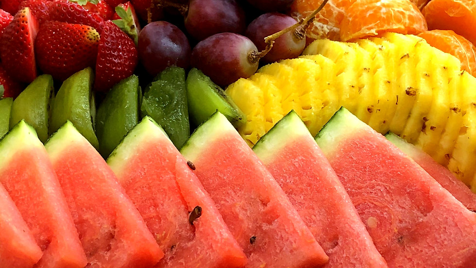 PLATEAU DE FRUITS DECOUPES