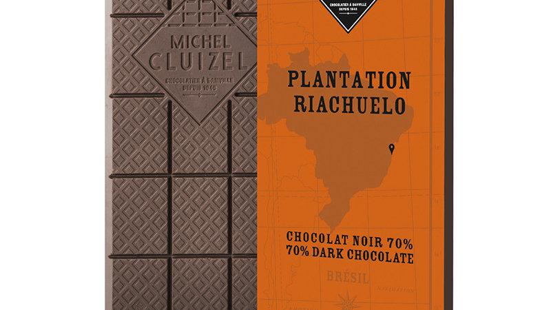TABLETTE CHOCOLAT NOIR RIACHUELO 70 GRS