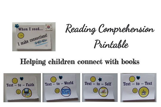Reading Comprehension Printable, lifeand