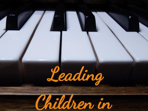Leading Children in Song