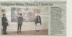 article du 16 mai l yonne rep exposition MEMO Corbigny