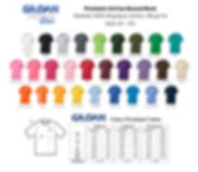Premium Cotton Gildan Series ( 180gsm) .