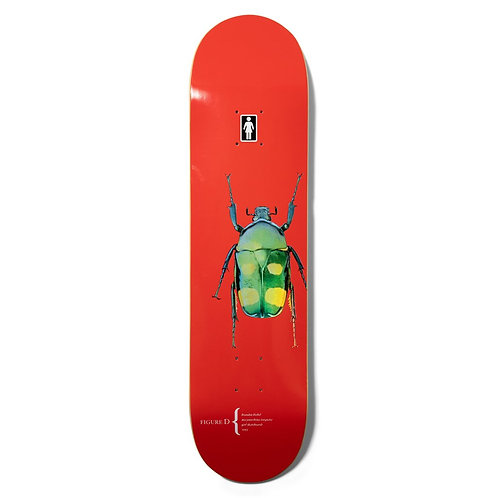 GIRL BIEBEL BEETLES DECK 8''