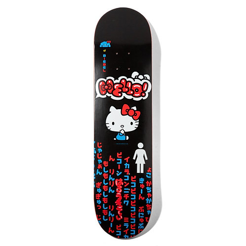 GIRL BIEBLE HELLO KITTY DECK 8''