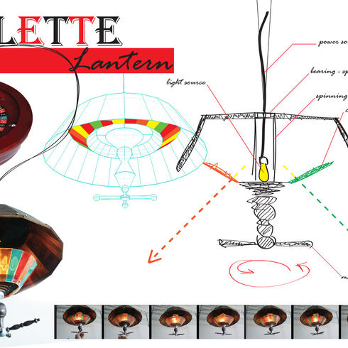 Roulette Lamp