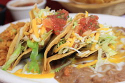 Crispy Tacos,chicken or beef(ground beef or shred beef)