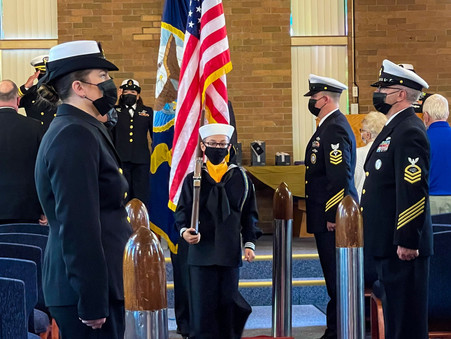 Sea Cadets Support Retirement of Chief Petty Officer