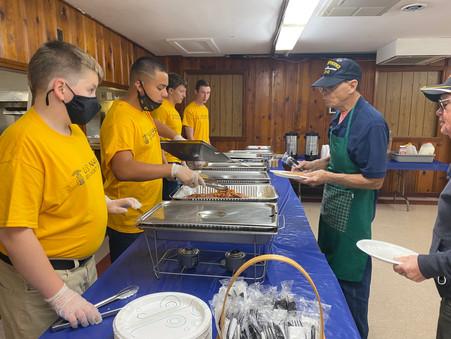 Pancake Breakfast at the American Legion
