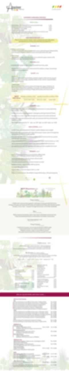carte and menus atelier des quais june 2