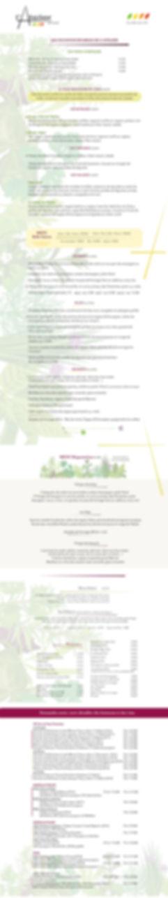 carte et menus atelier des quais juin 20