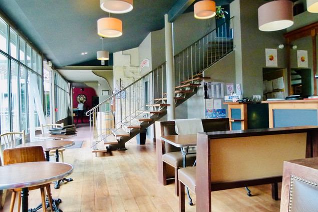 Salle Bar Atelier des Quais Cognac