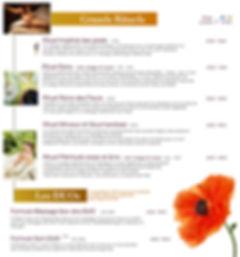 Spa-menu 2 Spa Premier