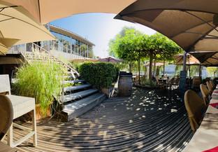 Accès terrasse Atelier des Quais